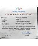 Rdzenni ekwadorczycy II - certyfikat
