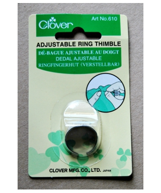 Clover (adjustable ring thimble) - box