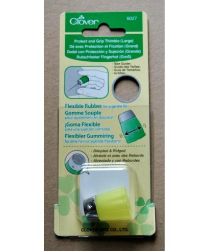Clover (yellow flexible rubber thimble) - box