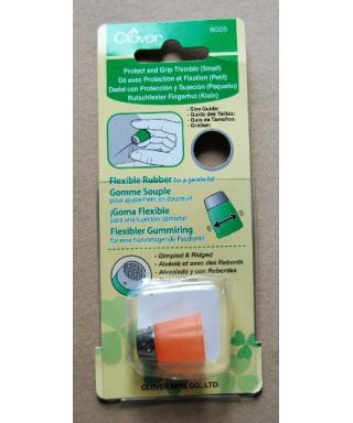 Clover (pomarańczowy elastyczny naparstek gumka) - pudełko