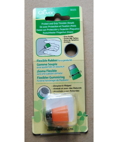 Clover (orange flexible rubber thimble) - box