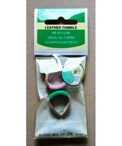Clover (leather thimbles with plastic cups) - box