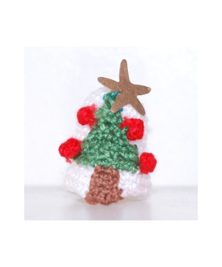 Crocheted with Christmas tree