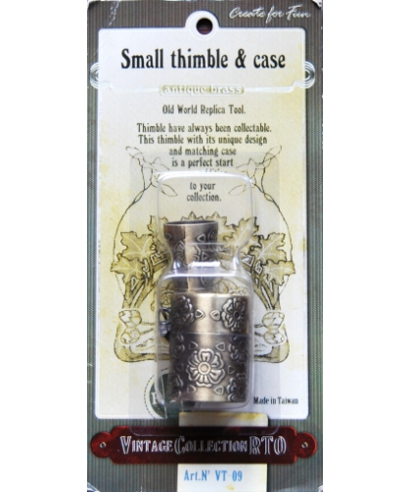 RTO (thimble and box antique brass) - box
