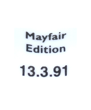 Mayfair Edition 13.3.91