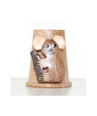 Drewniany koala