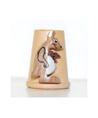 Wooden kangaroo