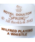 Royal Doulton Spring 1983 WILFRED PLAYING A WHISTLE