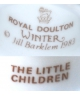 Royal Doulton Winter 1983 THE LITTLE CHILDREN