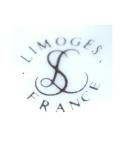 Limoges France LS - La Seynie Porcelaines (czarny)
