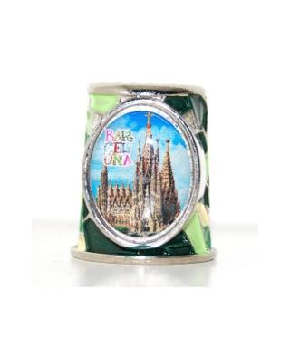 Barcelona zielona mozaika