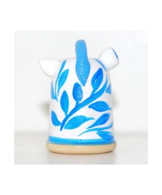 Imbryk w niebieskie kwiaty