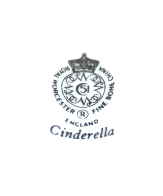 Royal Worcester Cinderella