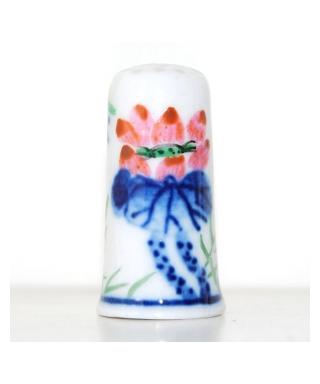 Malowane chińskie kwiaty V