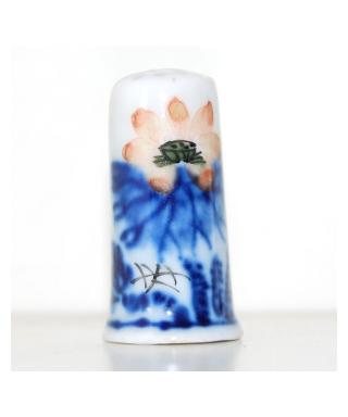 Malowane chińskie kwiaty VIII