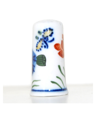 Malowane chińskie kwiaty IX
