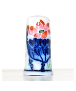 Malowane chińskie kwiaty X