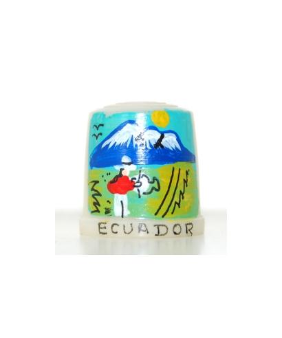 White with Ecuadorian