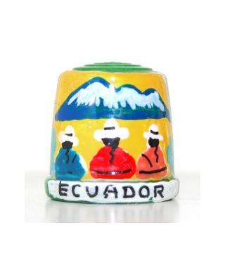 Zielony z ekwadorczykami