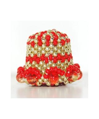 Złoty z koralików
