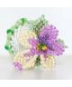 Kwiat z koralików
