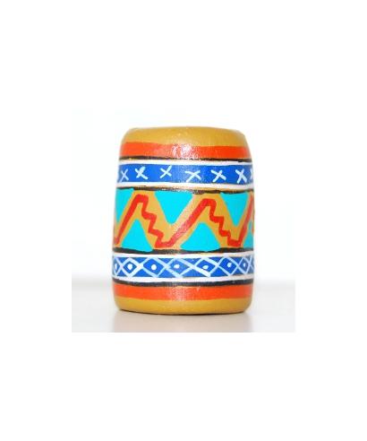 Pomarańczowy meksykański wzór