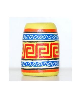 Żółty meksykański wzór