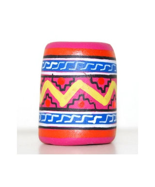 Pink Mexican pattern