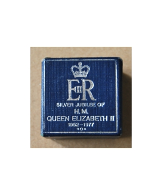 James Swann & son - pudełko (Silver Jubilee of Queen Elizabeth II)