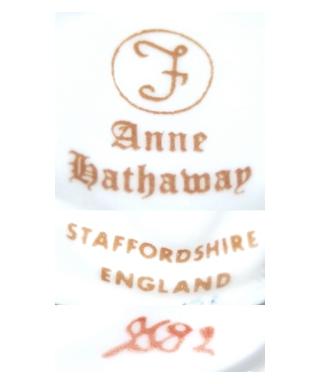 Francesca (Anne Hathaway, Joan Sutton), Staffordshire