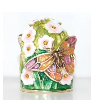Motyle i kwiaty