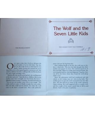 O wilku i siedmiu koźlątkach - certyfikat
