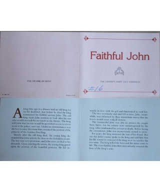 Faithful John - certificate