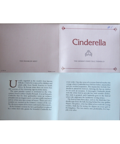 Cinderella - certificate