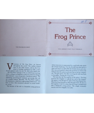 The Frog Prince - certificate