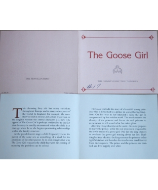 The Goose Girl - certificate