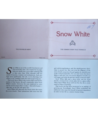 Snow White - certificate