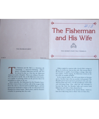 The Fisherman and His Wife - certificate