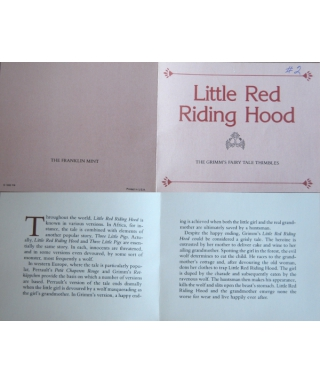 Little Red Riding Hood - certificate