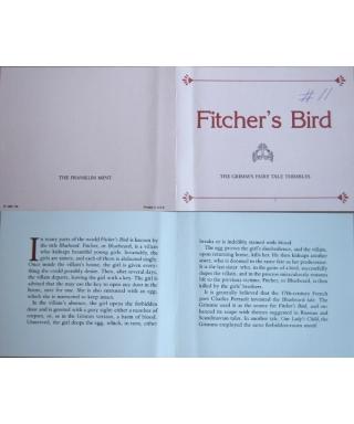 Fitcher's Bird - certificate