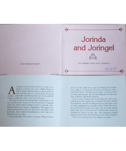 Jorinde i Joringel - certyfikat