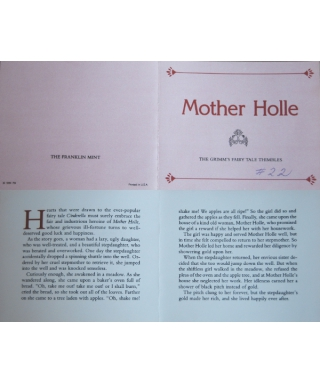 Mother Holle - certificate
