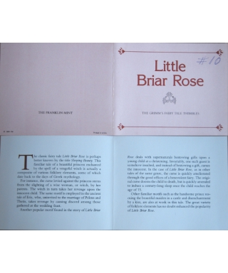 Little Briar Rose - certificate
