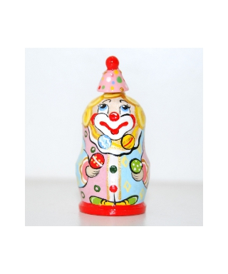 Żonglujący klaun (Cyrk)