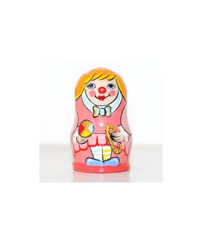 Pink clown (Circus)