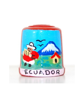Czerwony z ekwadorczykiem
