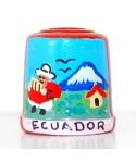 Red with Ecuadorian