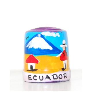Fioletowy z ekwadorczykiem