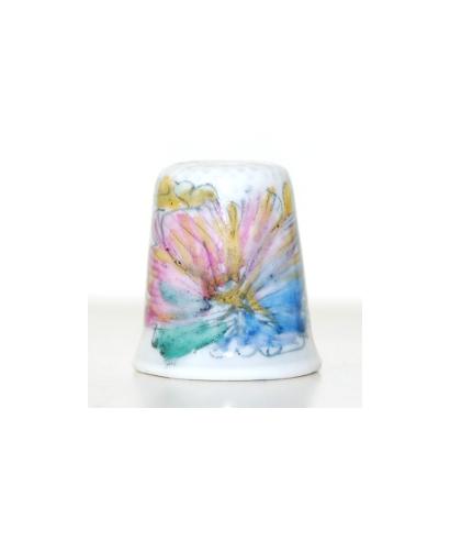 Kwiat - kolorowe plamy