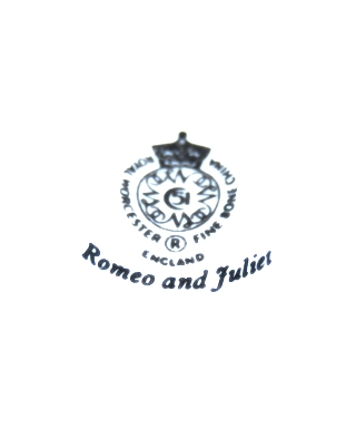 Royal Worcester Romeo and Juliet